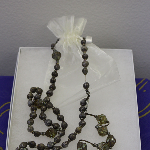 Rosary beads by Jackie Burns
