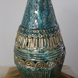 Coiled Ceramic Vessel by Susan Hunter