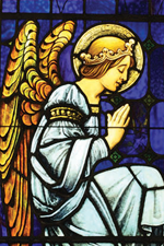 Angel Kneeling in Prayer