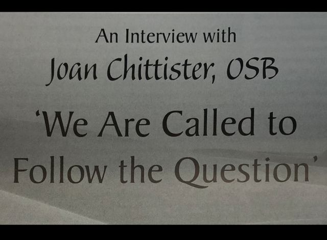 Joan Chittister on the future of Religious Life