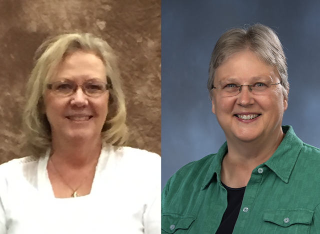 Oblate Joanne Cahill and Sister Dianne Sabol, Oblate Co-directors