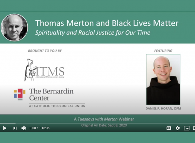 You can view the presentation on the International Thomas Merton Society YouTube channel.
