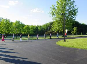 Silent Peace Walk at Mount St. Benedict Monastery