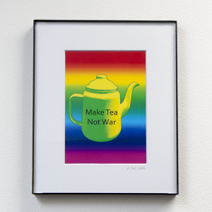 Make Tea Not War #3 by Jo Clarke, Obl