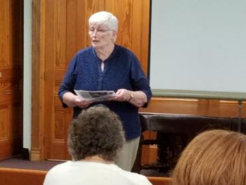Sister Annette Marshall, author of Responding to the Signs of the Times