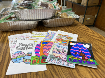 Greeting cards from St. Luke's students