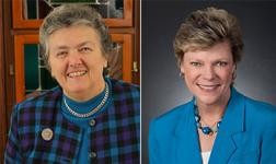 Joan Chittister and Cokie Roberts