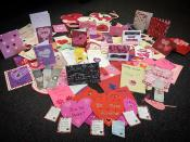 Valentines for the guests of Emmaus
