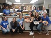 Students from Villa on Outreach Day