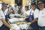 S.O.N.S. offer fish fry at Emmaus
