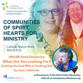 Catholic Sisters Week Book Discussion on What Are You Looking For by Joan Chittister