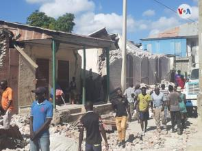 Support victims of earthquake and storm in Haiti