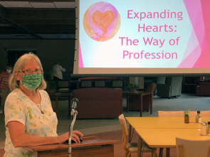 Sister Kathy McCarthy shares Benedictine Spirituality Workshop and Retreat Experience