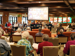Virtual oblate commitment ceremony at Mount St Benedict Monastery