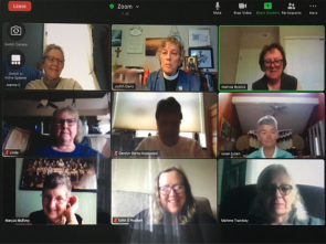 Oblates continue to gather via Zoom