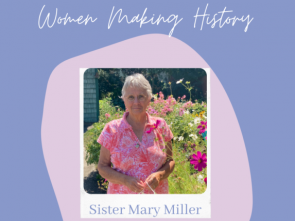 Sister Mary Miller, Emmaus Ministries director, honored