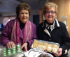 Betty Grafius and Kathy Derda, Emmaus home-baked cookie donors